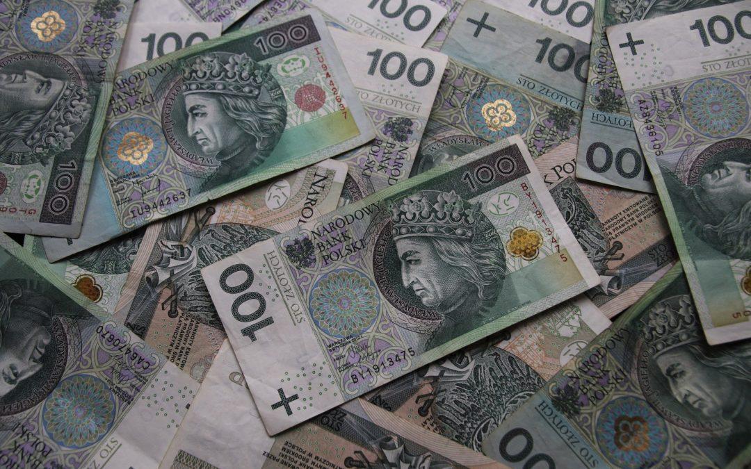Uszkodzony banknot co robić