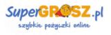 Obraz przedstawiający logo chwilówki firmy pożyczkowej Super Grosz.